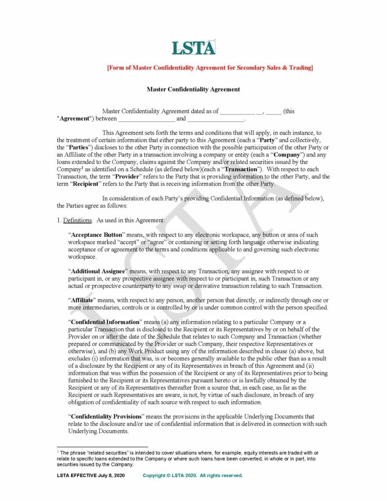 Master-Confidentiality-Agreement-for-Secondary-Trades-Final-July-8-2020