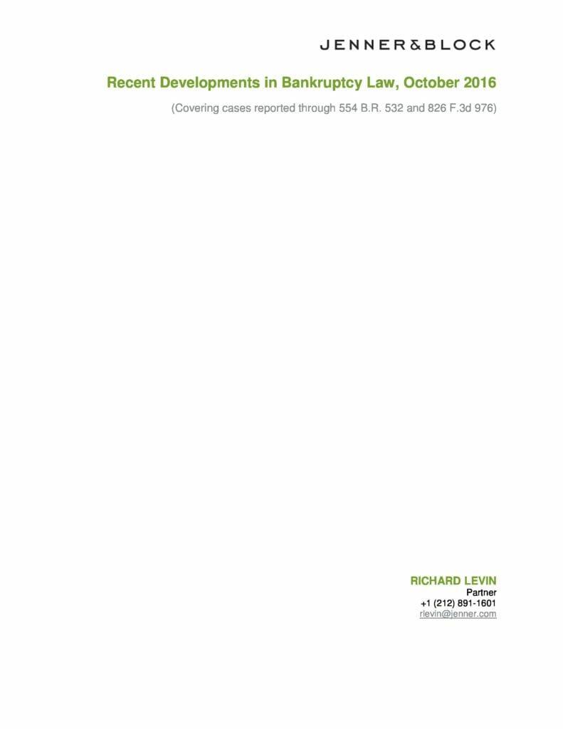 recent-bankruptcy-developments-2016-october-preview