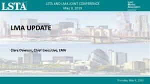 LMA Update (May 9, 2019)