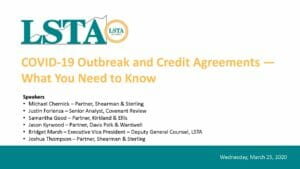 Pages from COVID-19 Outbreak and Credit Agreement - What You Need to Know (March 25, 2020)