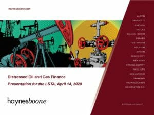 Pages from Semi-Annual Oil & Gas Industry Update (April 14, 2020)