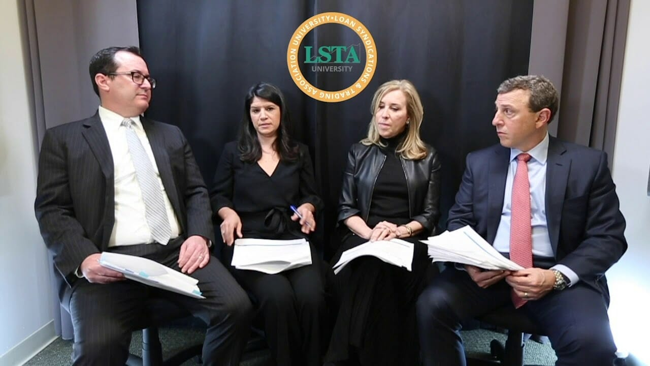 LSTA's Form of Purchase and Sale Agreement and Settling a Distressed Trade Podcast