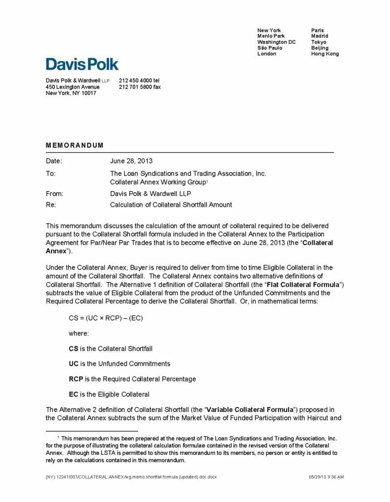 Pages from Davis Polk_Calculation of Collateral Shortfall Amount (June 28, 2013)