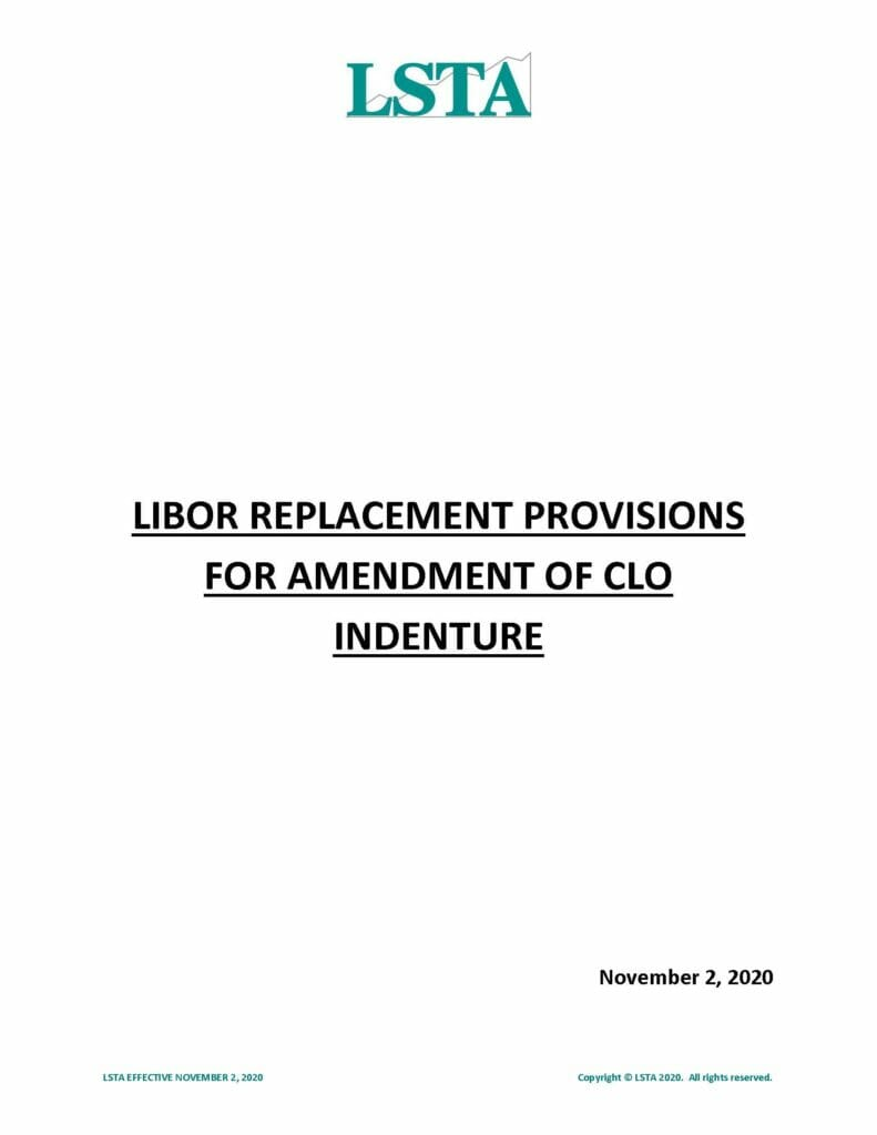 LIBOR-Replacement-Provisions-for-Amendment-of-CLO-Indenture-November-2-2020