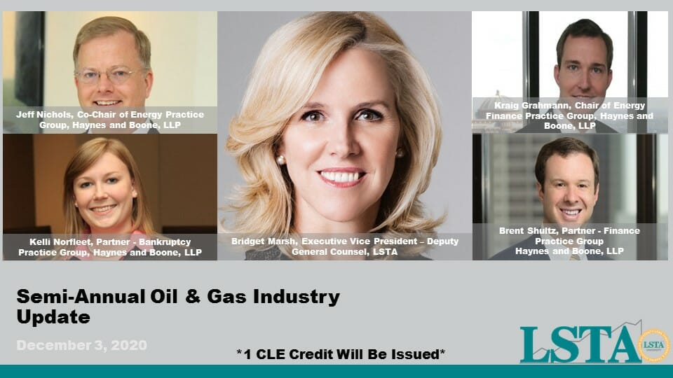 Semi-Annual Oil & Gas Updated (Dec 3, 2020)