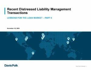 Liability Management Part II Presentation (Nov 18 2020)