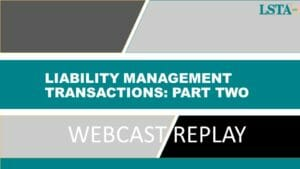 Liabilty Management Transactions_Part Two (Nov 18 2020)