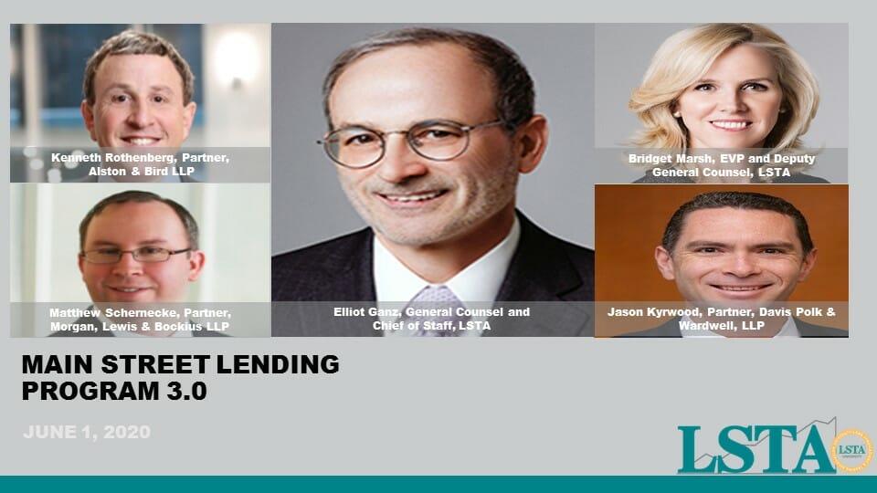 Main Street Lending Program 3.0 (June 1 2020)