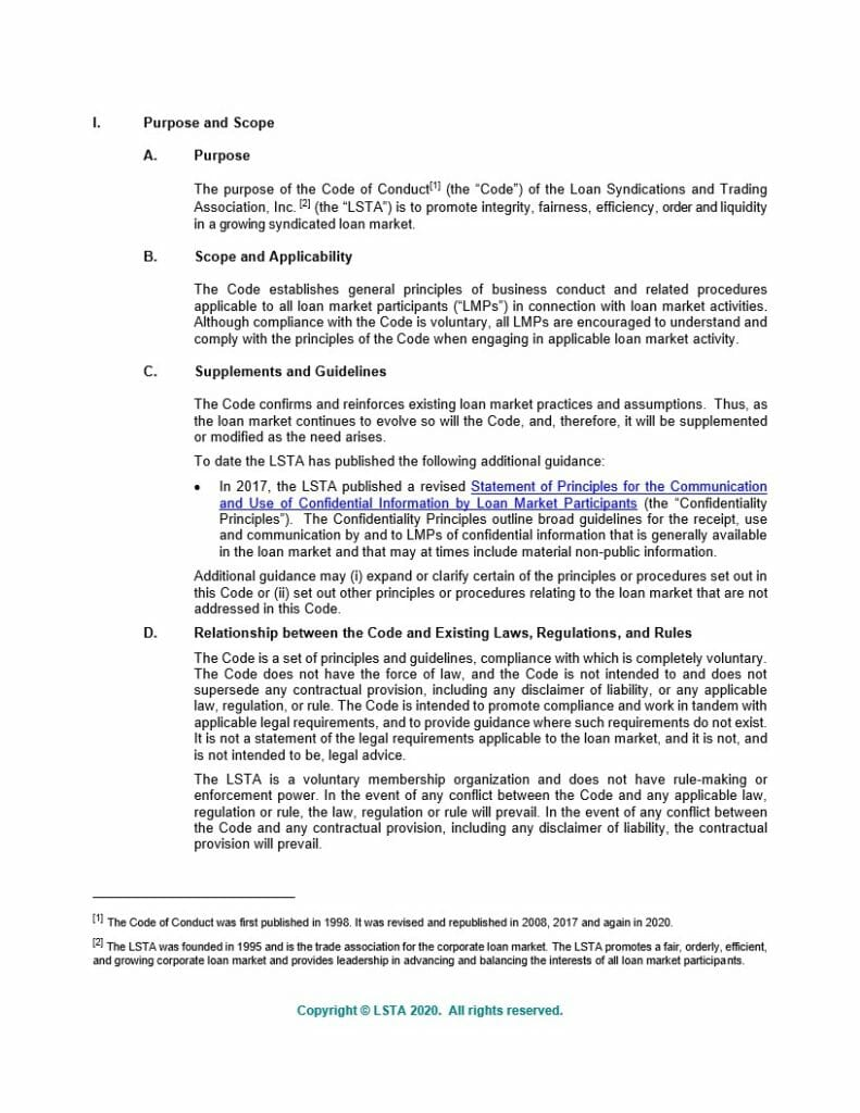 LSTA Code of Conduct (Dec 14 2020)