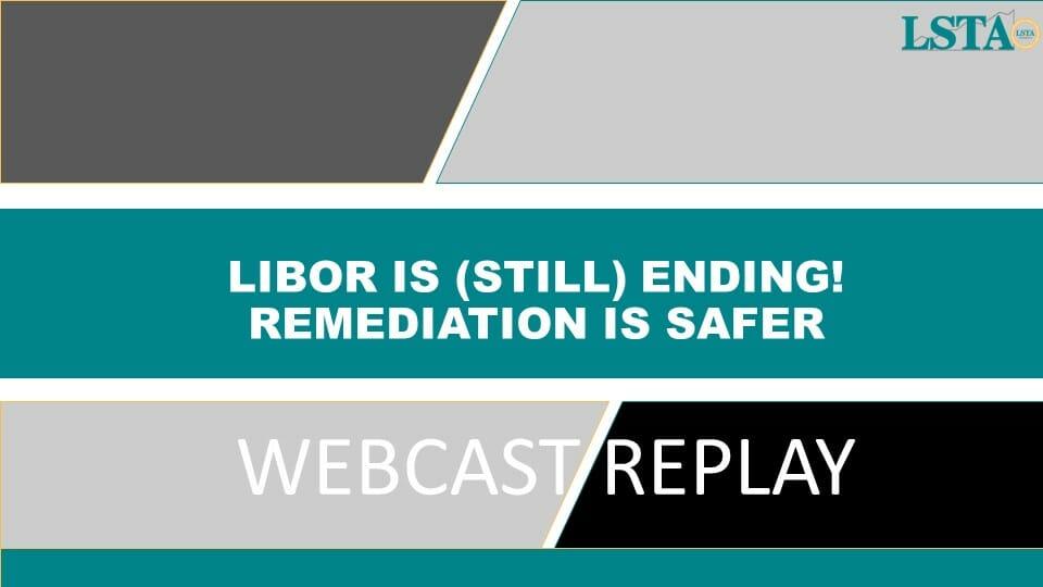 Webcast Replay
