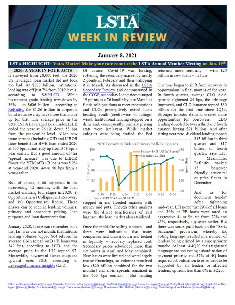 Week in Review 01 08 21