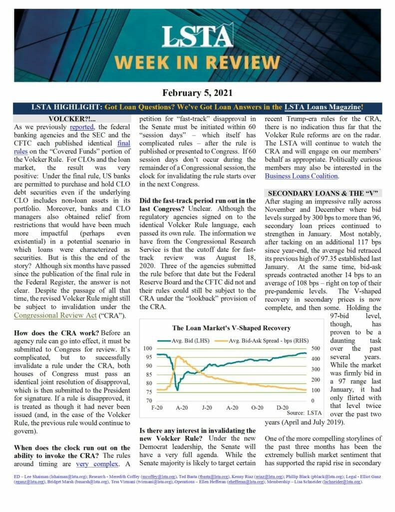 Week in Review 02 05 21