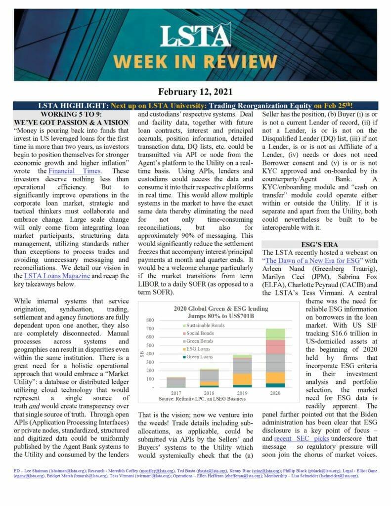 Week in Review 02 11 21
