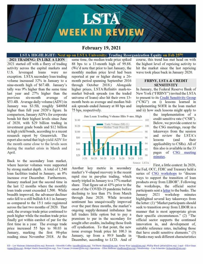 Week in Review 02 19 21