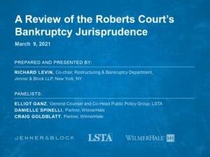 Bankruptcy Jurisprudence at the Supreme Court (Mar 9 2021)