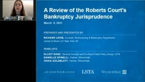 Bankruptcy Jurisprudence at the Supreme Court Replay