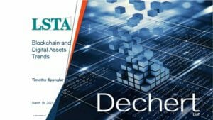 Blockchain and Digital Asset Trends Webcast Replay