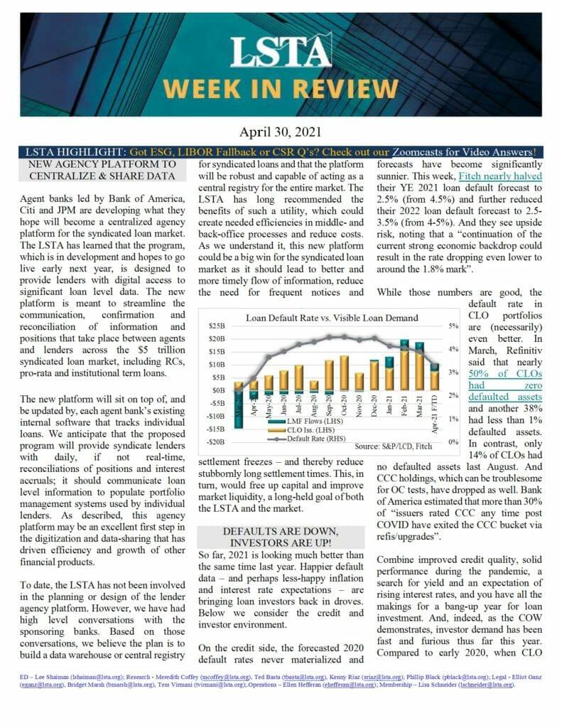 Week in Review 04 30 21