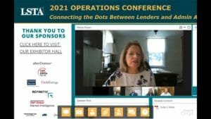 Connecting the Dots Between Lenders and Admin Agents Webcast Replay