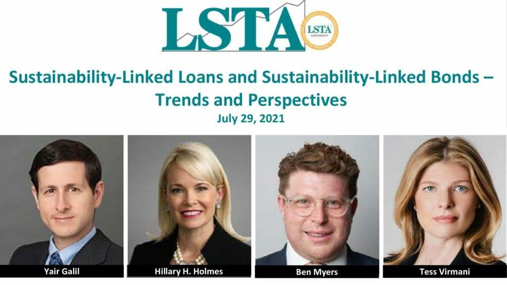 072921 Sustainability-Linked Loans Webcast