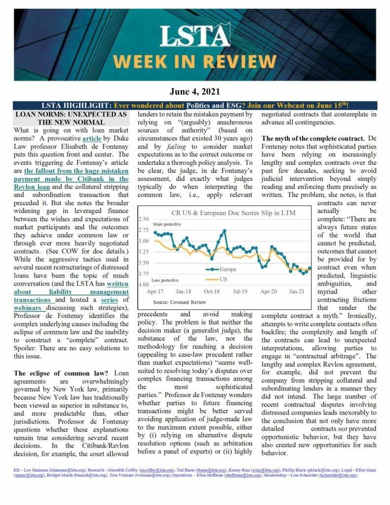 Week in Review 06 04 21