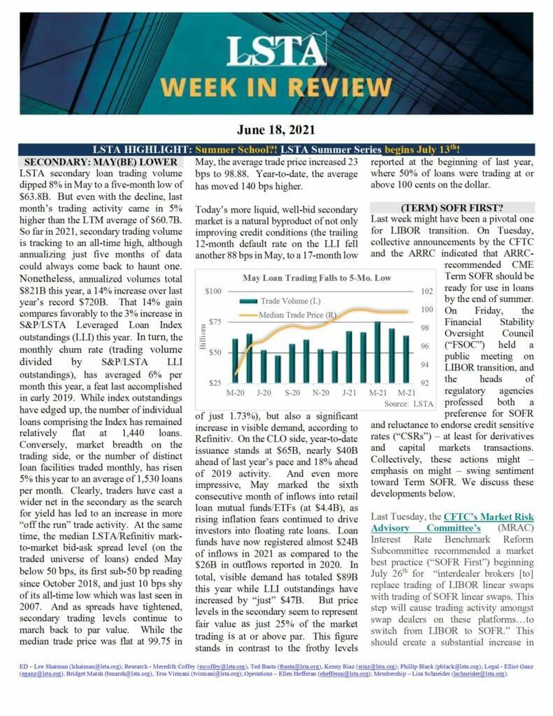 Week in Review 06 18 21
