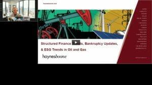 Semi-Annual Oil & Gas Industry June 2021 Update Webcast Replay
