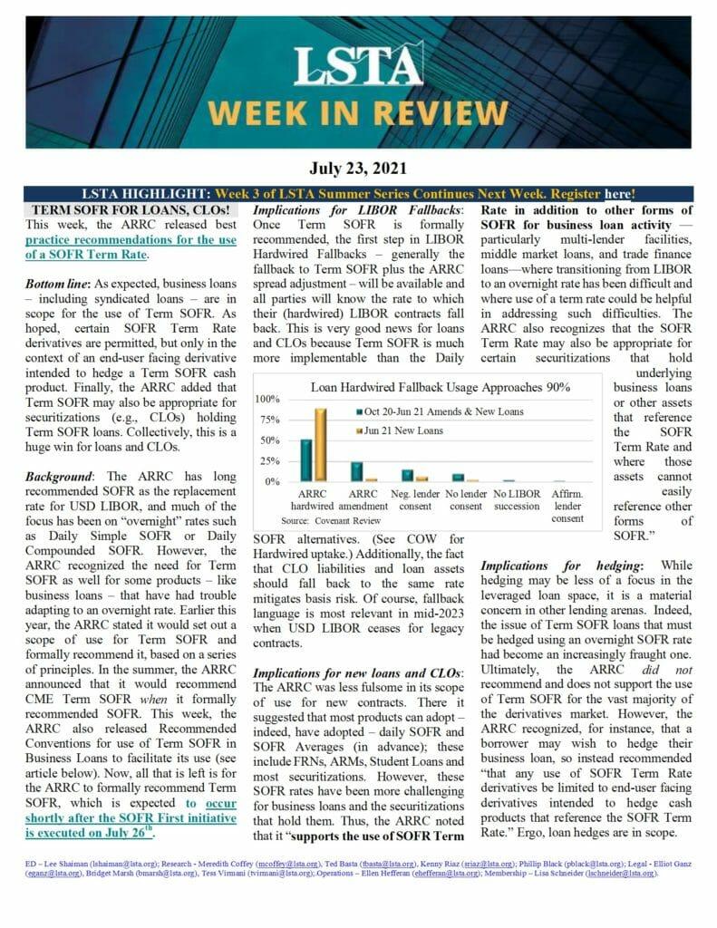 Week in Review 07 23 21