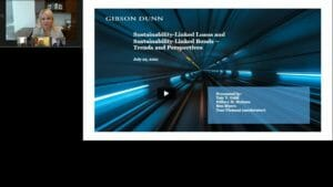 Sustainability-Linked Loans and Sustainability-Linked Bonds – Trends and Perspectives – Replay