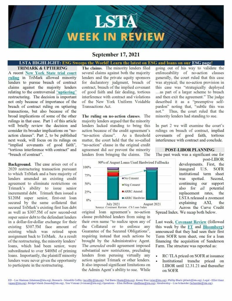 Week in Review 09 17 21