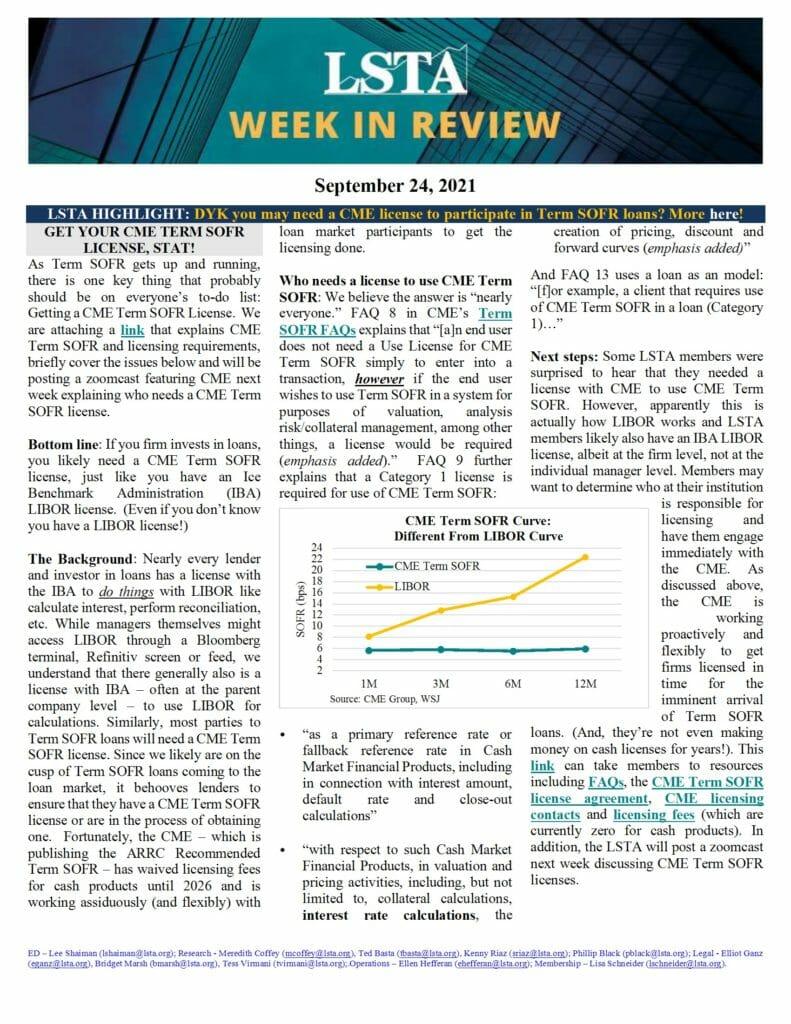 Week in Review 09 24 21