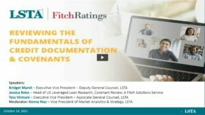 Review of Fundamentals of Credit Documentation and Covenants Replay